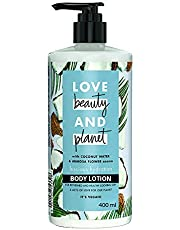 Love Beauty & Planet Coconut Water and Mimosa Flower Aroma Luscious Hydration Body Lotion, 400 ml