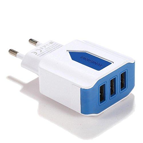 Cargador USB Ultrey con 3 puertos (5 colores) por sólo 4,20€ usando el #código: P7I8CZLJ