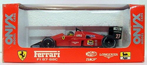 Onyx 1/43 Scale Diecast Model 005 - Ferrari F1 87-88C - Michele Alboreto