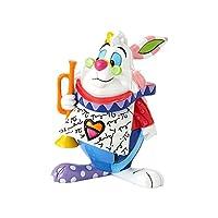 Disney Britto White Rabbit Mini Figurine, one size, multicoloured