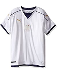 PUMA Men's Figc Italia Kids Tribute Away Shirt Replica