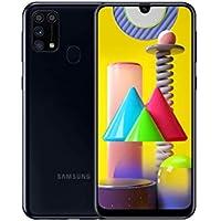 Samsung Galaxy M31 Mobile Phone; Sim Free Smartphone - Black [Amazon Exclusive] (UK Version)