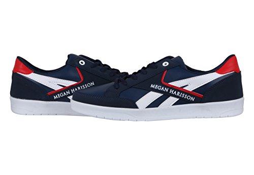 Megan Harisson Mg507 Scarpe Da Uomo Alta Sneaker Stringate Uomo Scarpe Casual Gr. 40-44 Selezione Blu