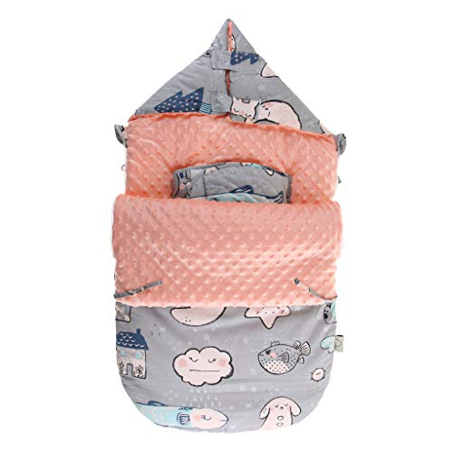 IPOTCH Bebé Infantil Recién Nacido Saco Dormir Dibujos