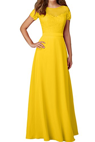 Ivydressing -  Vestito  - linea ad a - Donna Oro