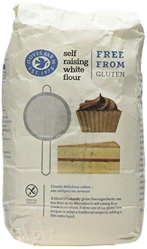 Doves Farm Gluten Free Self Raising White Flour, 1kg Test