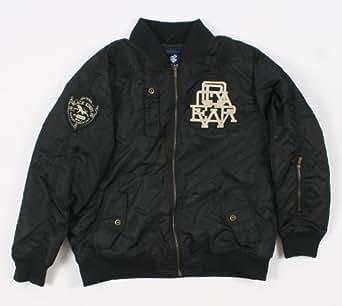 Rocawear 4PL235N Mens Black Parka Jacket Size Large