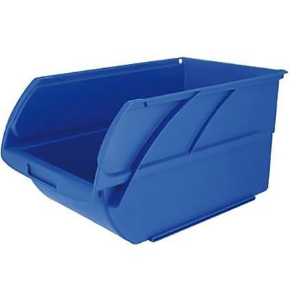 Stanley Caja organizadora Abierta, Espacio para Guardar Cosas de 4 litros, Azul, 14,6 x 23,8 x 12,7 cm 056300-015