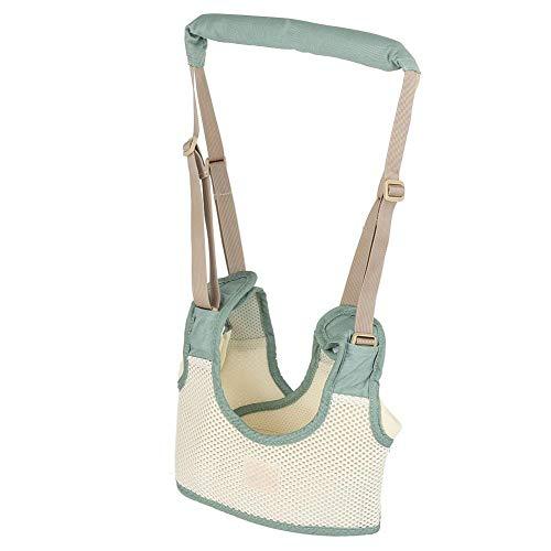 Baby-Gehgeschirr, atmungsaktiver, verstellbarer Kinderlaufleinen-Assistent für Kleinkinder(Blau) -