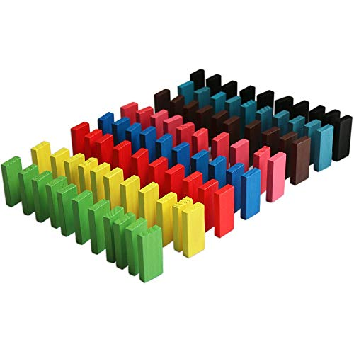 240 stücke Authentische Linde Standard Holz Kinder Domino Rallye Bausätze Kinder Spiel Spielen Racing Lernspielzeug für Kinder