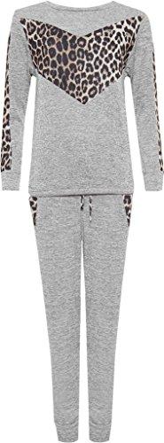 H&F Girls ® - Survêtement - Femme V Leopard