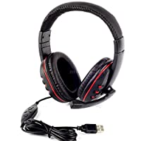 Fancybox-PRO *USB *Stereo Live *Headphone *Microphone with MIC GAME *Gaming *Headset *For PlayStation *PS3 PS_3 PC Laptop MKLG *Gaming_Headphones