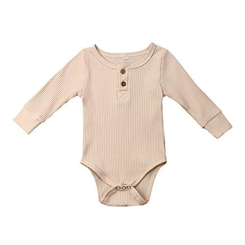 FELZ Ropa de Bebe niña niño Mameluco Mangas Largas de Verano Recién Nacido 0-24 Meses Trajes de Mono...