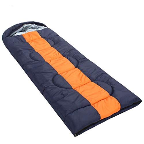 Junfelicia sacco a pelo con sake compression - ottimo per l'escursionismo, il viaggio, il campeggio (color : blue orange)