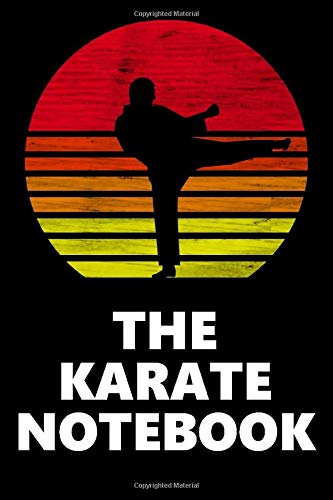 The Karate Notebook: Dot Grid Journal, Notebook or Diary - Gift for Karate Fighters - Size 6x9 | 120 Dotted Pages