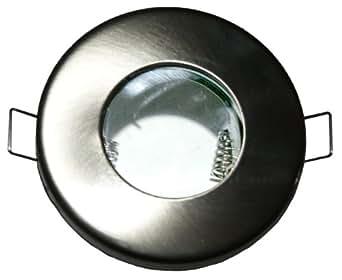 Fixation de spot encastrable pour salle d 39 eau salle de for Luminaire salle de bain ip65