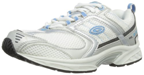 Hi-Tec R111 W, Scarpe da jogging Donna Bianco (Weiß (White/Powder Blue/Gunmetal))
