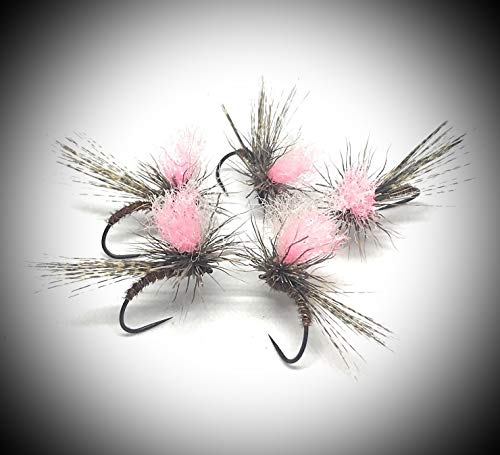 Maximal Clini: Roe Parachute Pink Hi Vis 12/14/16, in 9er Packung von DREI Größen, gefertigt auf schimmernden und koslovacchischen Bären, gemäß FIPS MOUCHE -