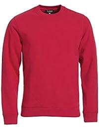 Unisex Sweater Sweatshirt Classic Roundneck mit versteckte Seitentasche in schwerer 300g Qualität 80% Baumwolle von noTrash2003
