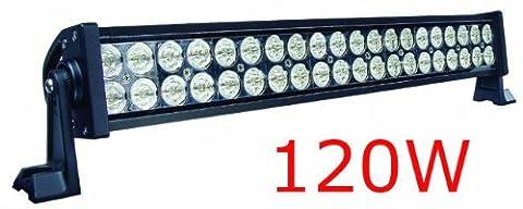 120w Rampe de Phare Barre LED work light bar Car SUV ATV Boat Marine 24V 12V