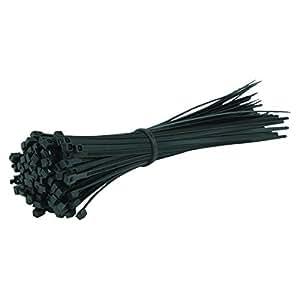 Gocableties Lot de 100serre-câbles en nylon noir 300x 4,8mm