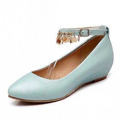 Confortevoli ed eleganti scarpe piatte sesso categoria stili di stagione materiali superiore occasione tacco accenti di tipo di prestazioni a Colori Blue