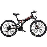 GTYW, Bicicleta Eléctrica Plegable, Bicicleta De Montaña, Ciclomotor Adulto, Bicicleta Eléctrica,