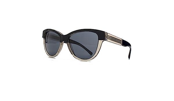 e1f5955009aa Burberry Two Tone Cateye Sunglasses in Black On Grey BE4206 355887 55 55  Grey  Amazon.co.uk  Clothing