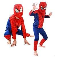 boy kid 3 piece spiderman cosplay superhero costume 2 to 4 years old