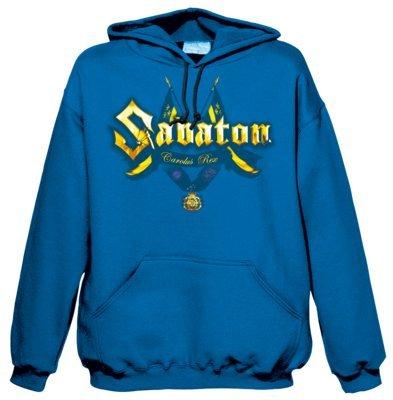 Sabaton-Felpa con cappuccio Carolus Rex (in XXL)