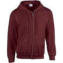 HeavyBlend™ full zip hooded