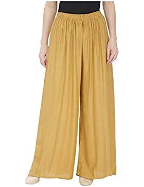 Indian Handicrfats Export Meoby Relaxed Women Beige Trousers