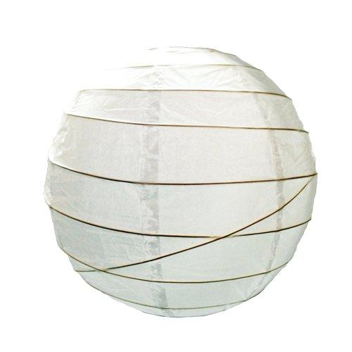 682460cm weiß Papier Laterne Anhänger Schatten - Papier-decke-anhänger