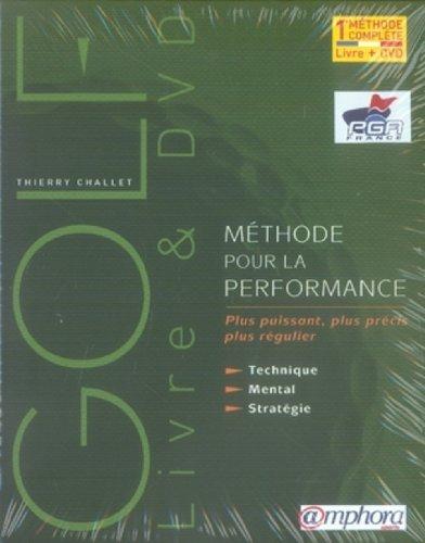 Golf : Méthode pour la performance (coffret livre + DVD) par Thierry Challet