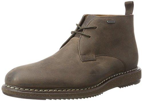Clarks Herren Kenleymid GTX Klassische Stiefel, Braun (Brown Oily), 40 EU (Gtx Chukka)