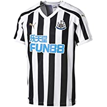 Newcastle United Puma Camiseta Home 18/19, Blanco/Negro, Small