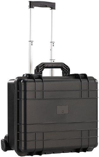 Xcase Outdoor Koffer: Staub- und wasserdichter Trolley-Koffer, 47,5 x 39 x 20 cm, IP67 (Kunststoffbox)