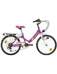 "SPR Kiddy Bicicleta para niñas, Tamaño de rueda: 20"", Shimano 6 velocidades"