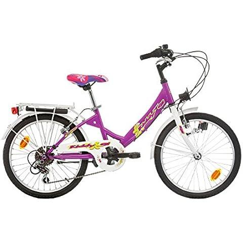 SPR Kiddy Bicicleta para niñas, Tamaño de rueda: 20