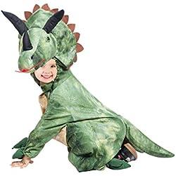 Disfraz de Dino Triceratops, F123, tamaño 7-8 anos, para niños, disfraz de dinosaurio, disfraces de Dino para carnaval de carnaval, disfraces de dinosaurios para niños pequeños, disfraces de carnaval de niños, regalo de cumpleaños
