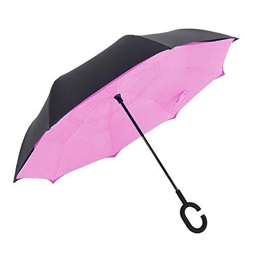 SUPRELLA PRO® – Das Original | Der Regenschirm - neu erfunden. | Ø1.10m | Style: Rosa (Nano Pnk)