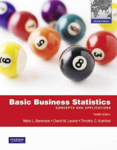 Basic Business Statistics with MyMathLab Global: Global Edition