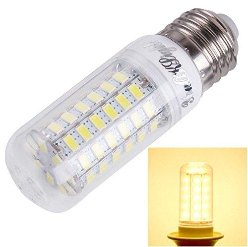 Warmhome Gut aussehende Mode Licht E27 18W 1700LM Weiß CRI> 80 69 LED SMD 5730 Mais Glühbirne, AC 110-120V Garten (Artikelnummer : S-LED-3409WW) - 120v Glühbirne