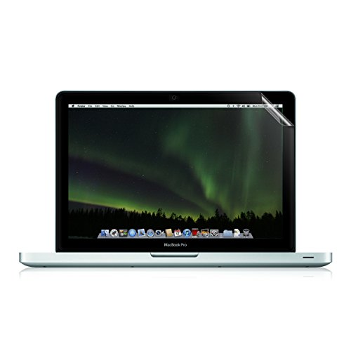 "kwmobile Folie matt für Apple MacBook Pro Retina 15"" (ab Anfang 2013) Displayschutzfolie - Laptop Schutzfolie Displayschutz Anti-Fingerabdruck Displayfolie entspiegelt"