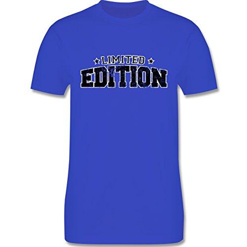 Statement Shirts - Limited Edition Vintage - Herren Premium T-Shirt Royalblau
