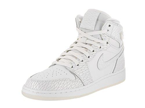 Bambini Hi Nike Prem Da Basket 1 Bianco Bianco Ret Ff Jordan Air Platino Scarpa Puro Gg dSxRfwdqHn