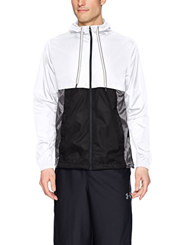 Under Armour HeatGear Sportstyle Trainingskapuzenjacke Herren white-black-black (1306482-100)
