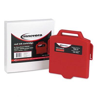 Neues ivr7653Tintenpatrone–Tintenpatronen (rot, Standard, Pitney Bowes Digital Versandtaschen Maschine DM200i, dm300i, dm300l, dm400i, dm400l, Tintenstrahldrucker, Box) (Maschine Mailing)
