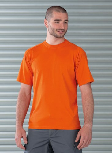 Strapazierfähiges Arbeits-T-Shirt Bottle Green