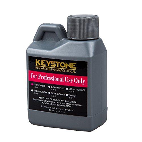 SODIAL(R) Professional Acrylic Liquid for Nail Art Powder Tips 120ml